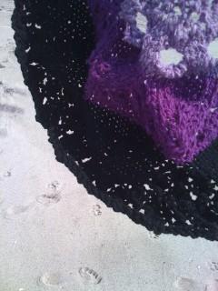 Heirloom Lace Doily on Fair Harbor Beach