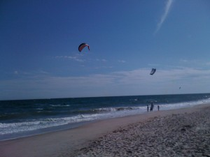 Kite Surfers at Montauk Use Strings Differently from Knitters
