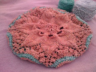 Center Pattern of Hemlock Ring Blankie