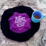 Heirloom Lace Doily Placemat for Breakfast
