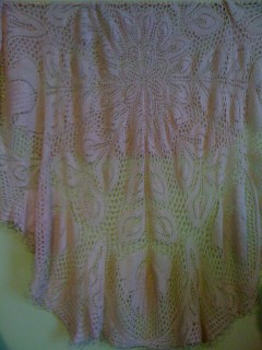 Cashmere Lace Shawl - Hand Made with Love