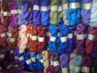 Fiber Optic - Eye candy for knitters!